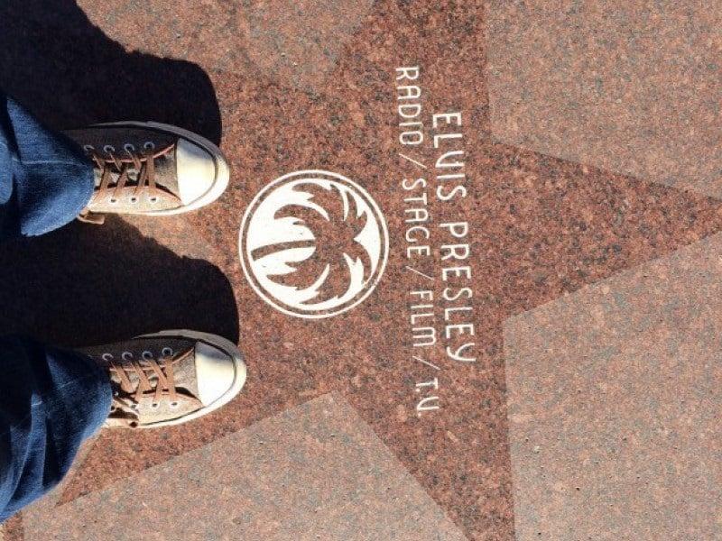 Estrela de Elvis Presley na Calçada da Fama