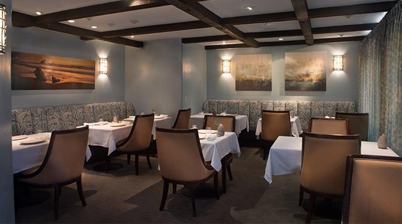Noite nos restaurantes em Carmel