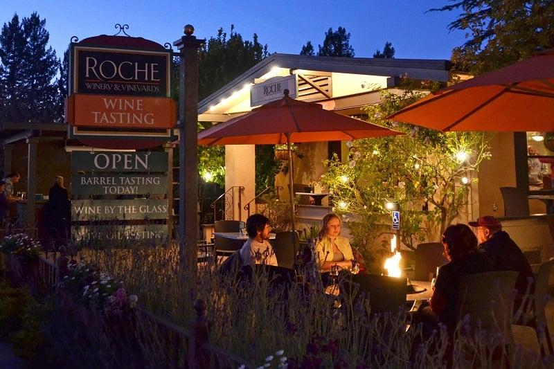 Noite nas vinícolas em Sonoma