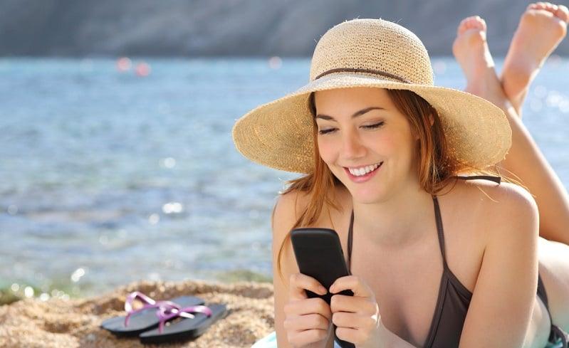 Usar o celular à vontade em Las Vegas