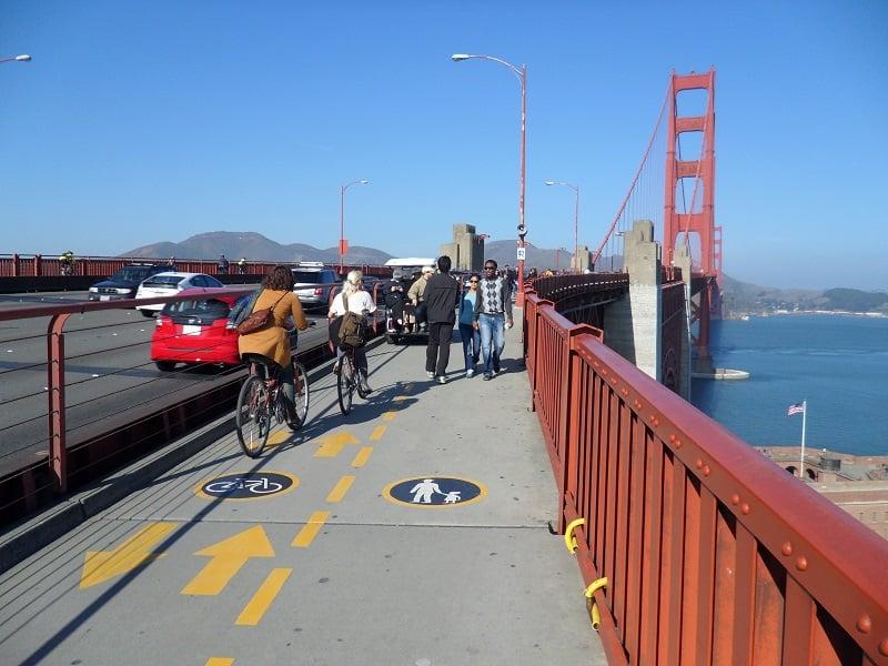 Passeio pela Ponte Golden Gate em San Francisco