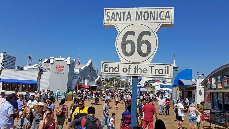 Pier de Santa Mônica - Califórnia