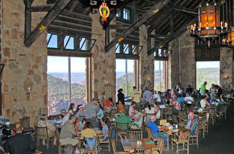 Restaurantes em North Rim no Grand Canyon