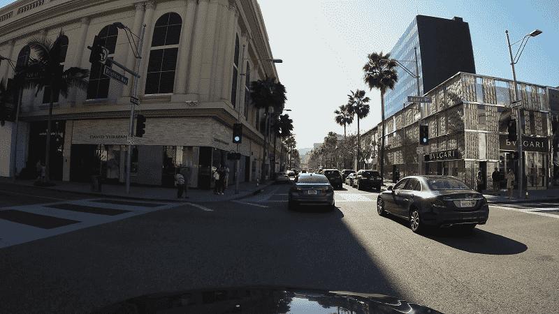 Serviço de aluguel de carro em Beverly Hills