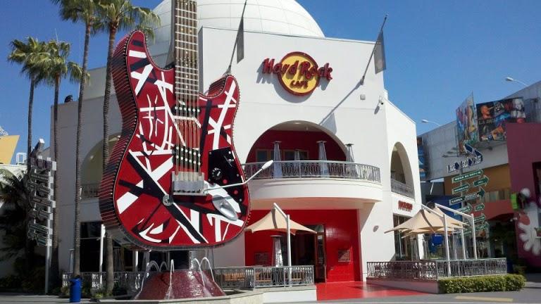 Informações sobre o Hard Rock Café Universal CityWalk Los Angeles