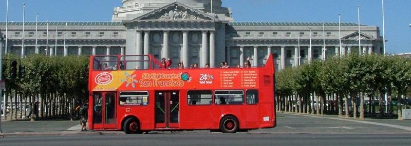 Passeio de ônibus turístico Sigthseeing San Francisco