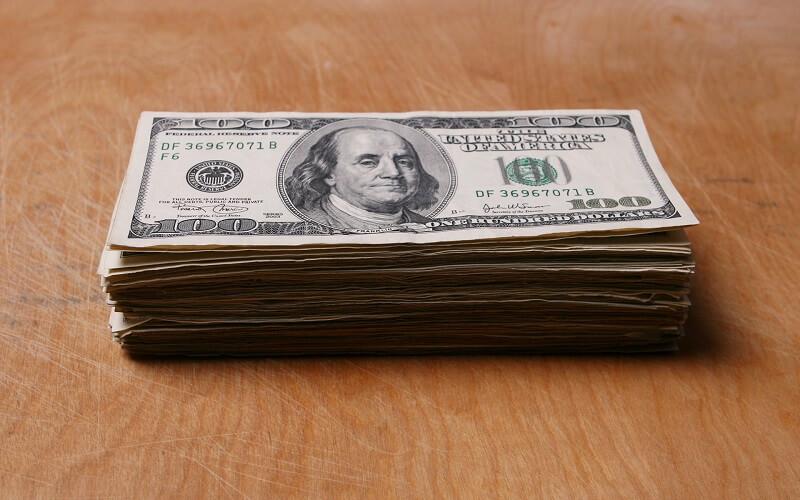 Dólar - dinheiro vivo