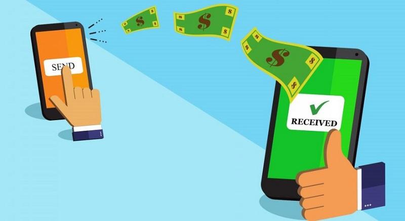 Envio de dinheiro com o celular