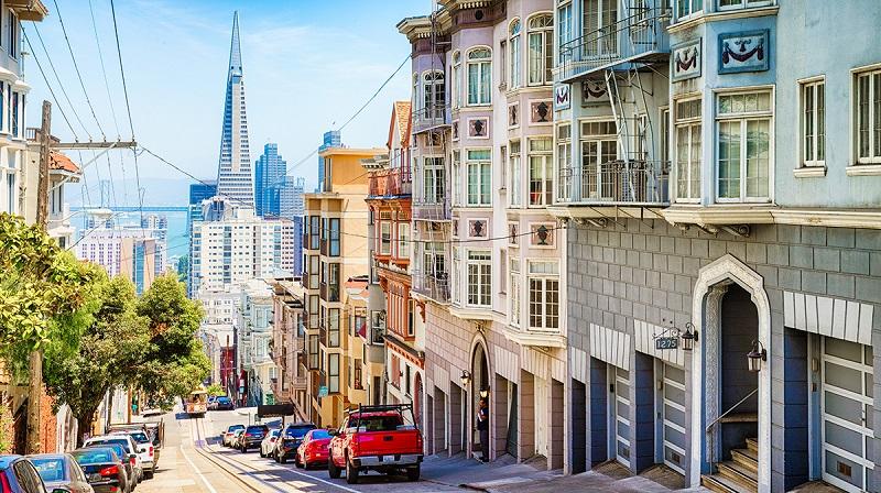 San Francisco na Califórnia