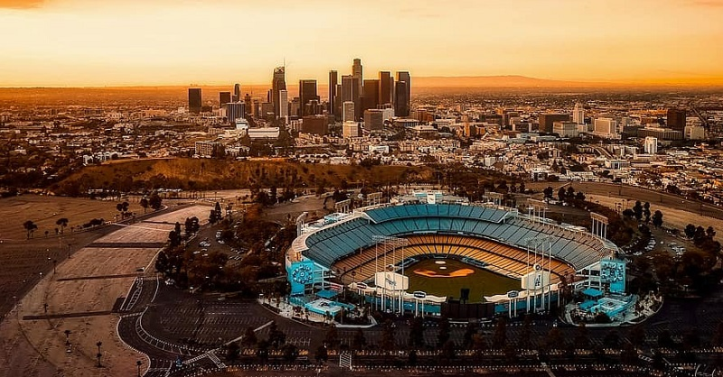 Sunset em Los Angeles