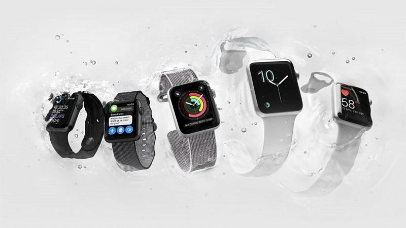 Diferentes modelos dos Apple Watch