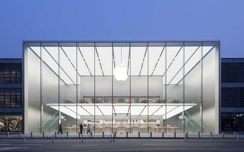 Lojas da Apple na Califórnia