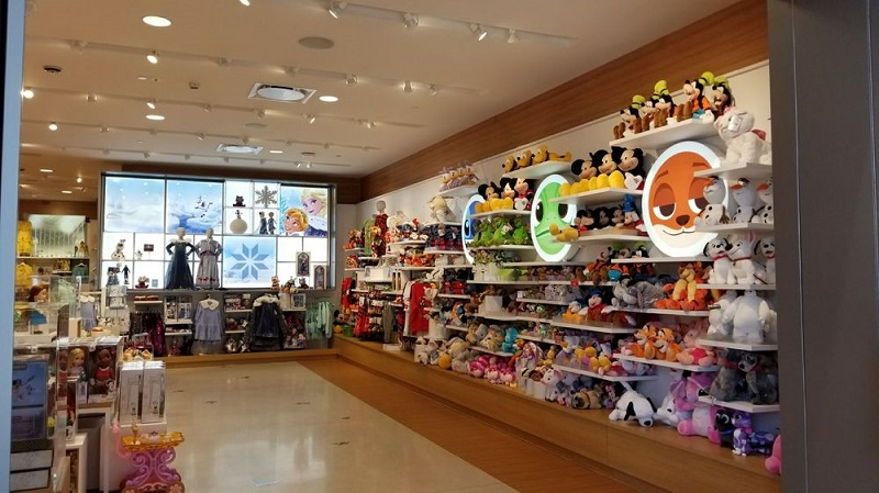 Lojas Disney Store em Los Angeles