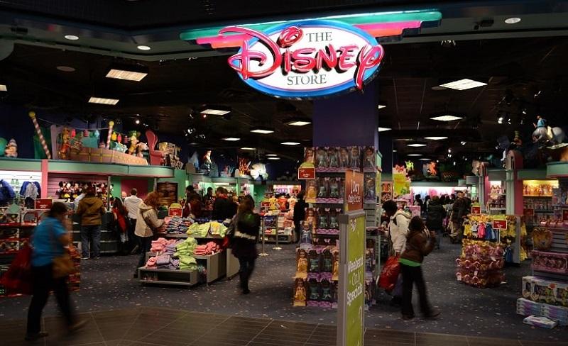 Lojas Disney Store em San Diego