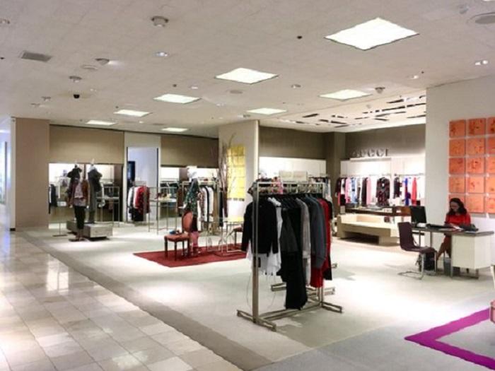Loja Neiman Marcus na parte interna