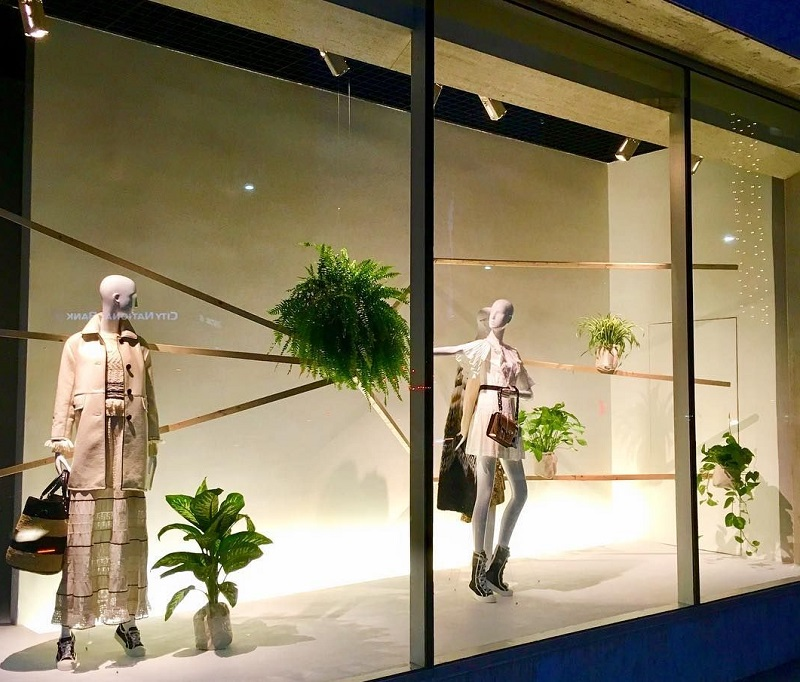 Vitrine da Neiman Marcus em Los Angeles