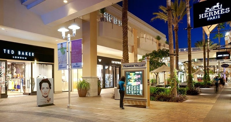 Shopping Fashion Valley Mall - Compras