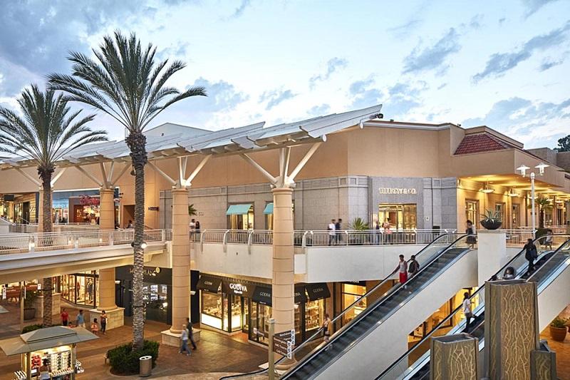 Shopping Fashion Valley Mall em San Diego