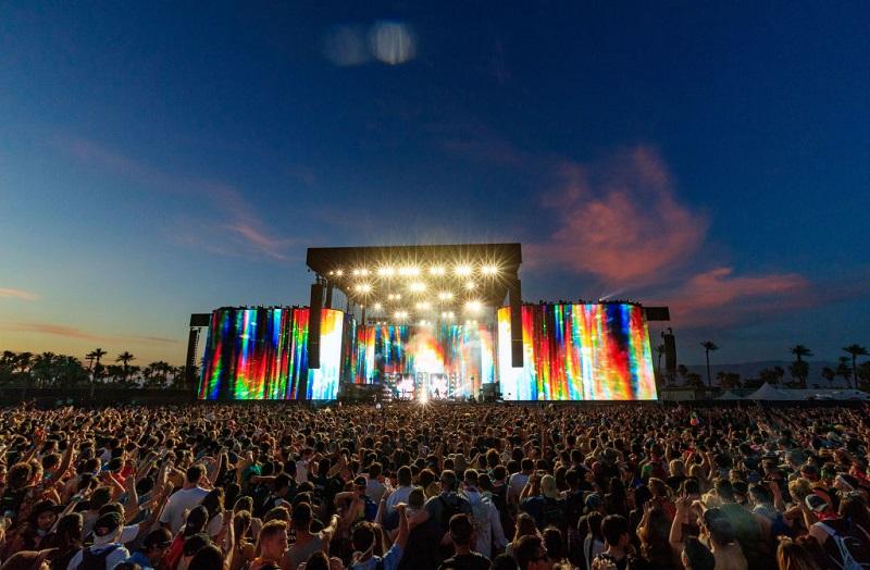 Festival Coachella na Califórnia