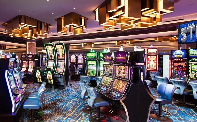 Cassinos em Las Vegas - Máquinas