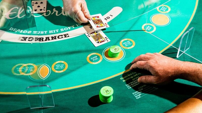 Cassinos em Las Vegas - Jogo de mesa