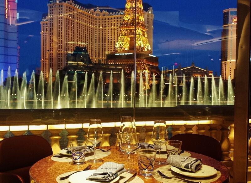 Cassinos em Las Vegas - Gastronomia