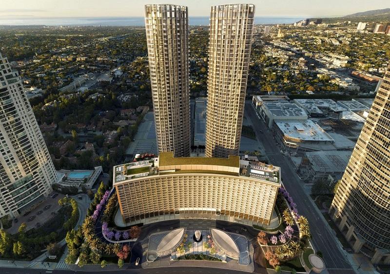 Hotel luxuoso em Los Angeles - Califórnia