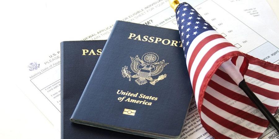 Passaporte e visto para a Califórnia