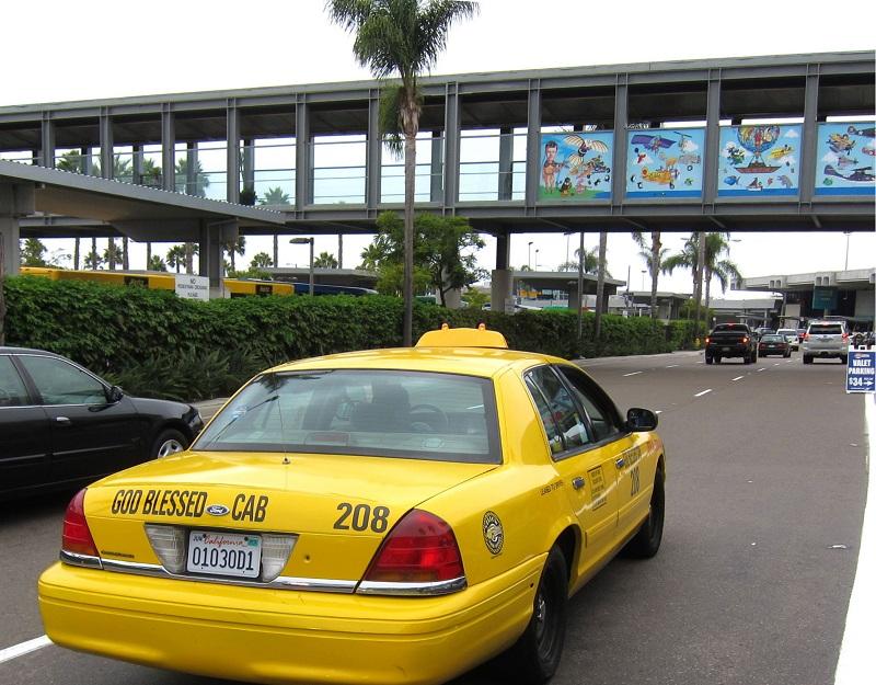 Táxi na Califórnia