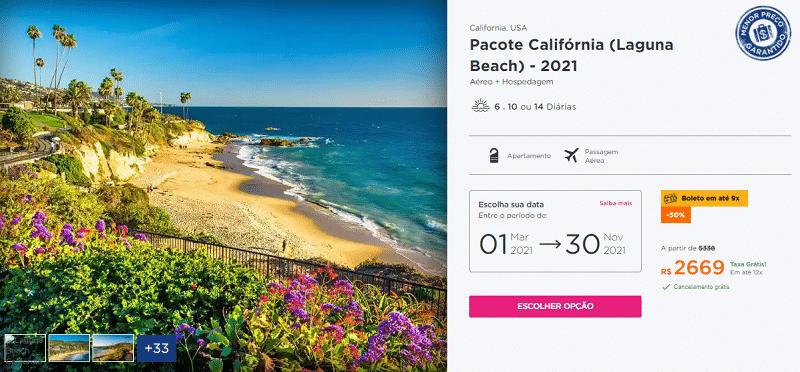 Pacote Laguna Beach 2021 Hurb