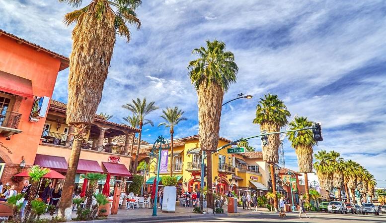 Meses de alta e baixa temporada em Palm Springs