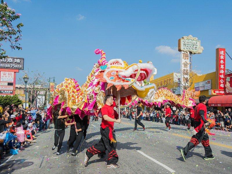 Golden Dragon Parade - Los Angeles