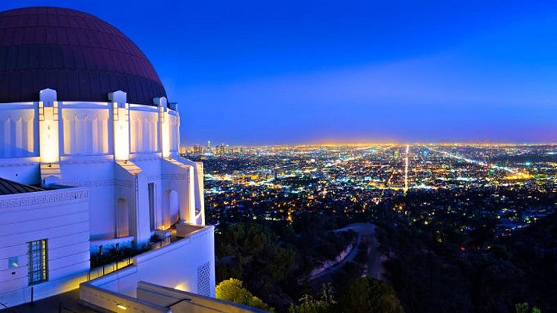 Los Angeles iluminada