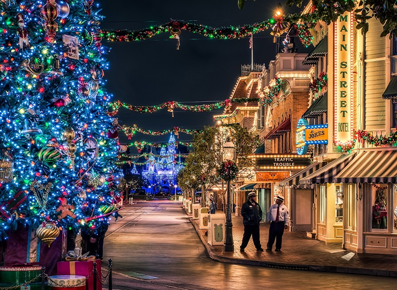 Natal em Anaheim