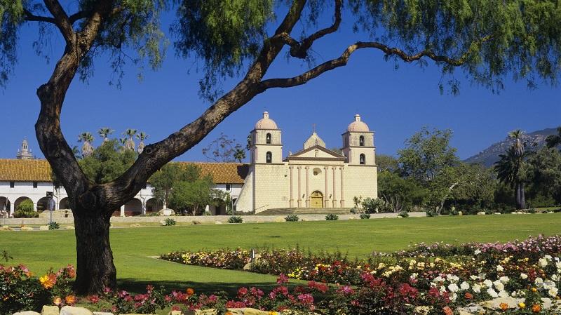 Old Mission em Santa Bárbara