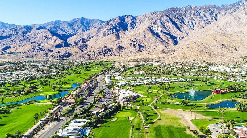 Palm Springs na Califórnia