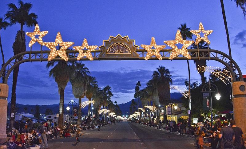 Natal em Palm Springs