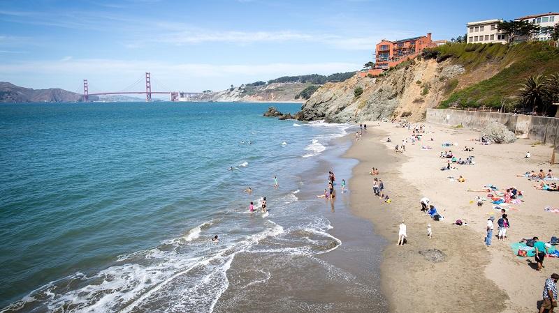Praia em San Francisco - Califórnia