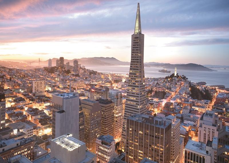San Francisco iluminada