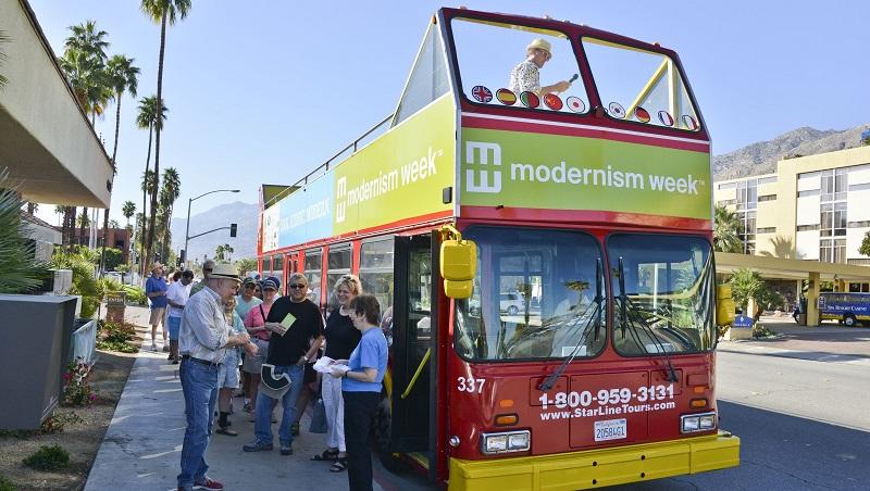 Semana do Modernismo em Palm Springs