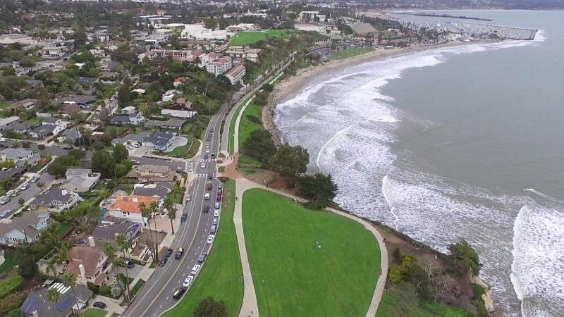 Shoreline Park em Santa Bárbara