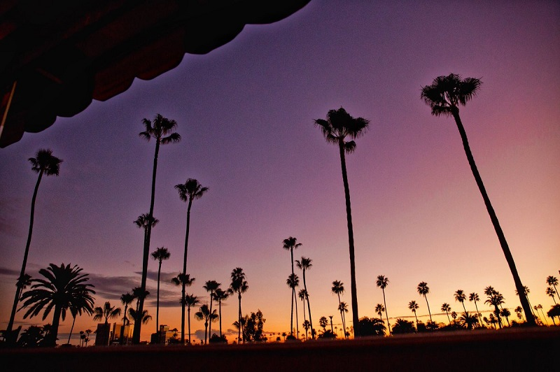 Sunset em Beverly Hills