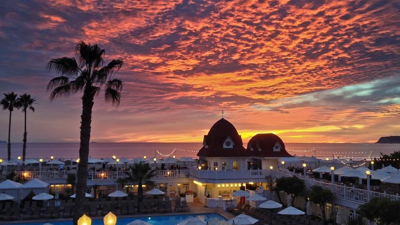 Sunset em San Diego - Califórnia