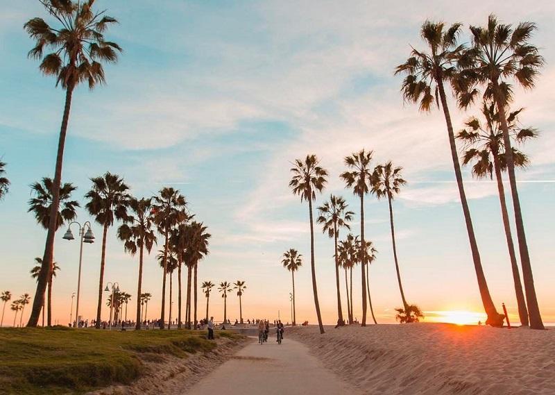 Califórnia - Pôr do Sol