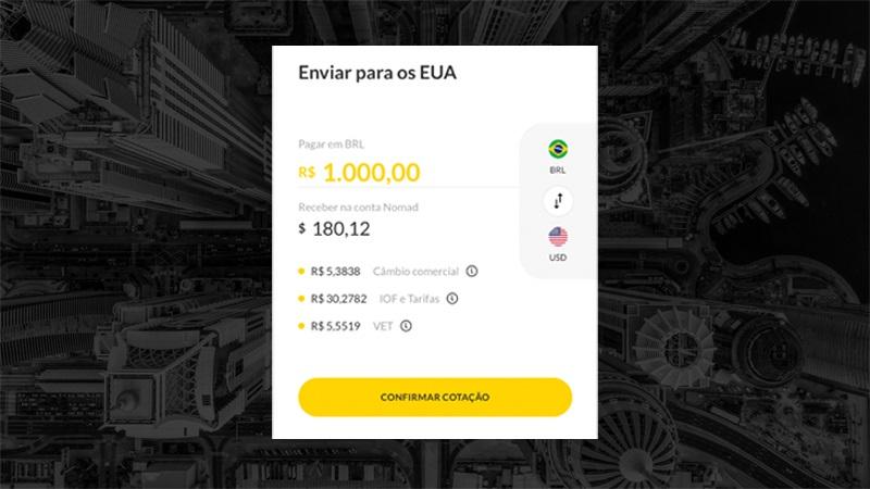 Como enviar dólares para os Estados Unidos do Brasil