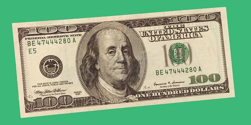 Nota dólar americano