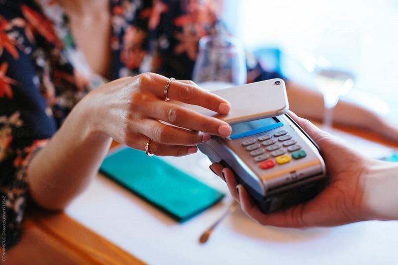 Pagar a conta com o celular