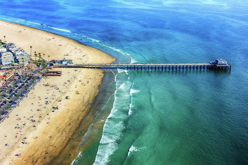 Praia de Newport Beach - Califórnia