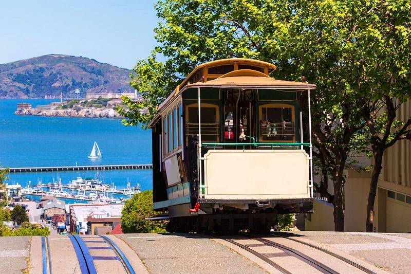 Bondinho em San Francisco