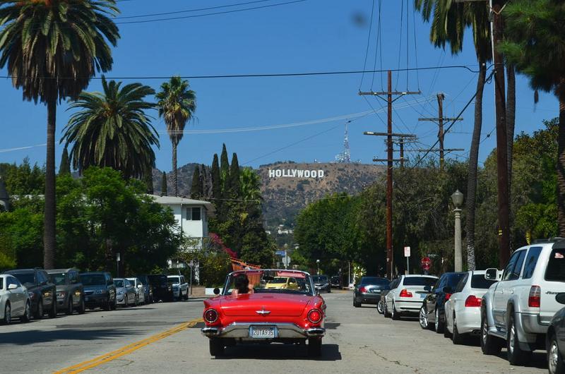 Carros em Los Angeles